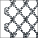 N5500 - Cross spiral - wire netting
